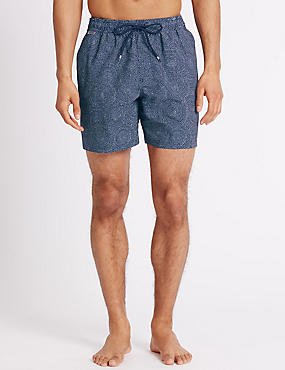 Quick Dry Printed Swim Shorts