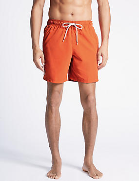Quick Dry Swim Shorts, ORANGE, catlanding
