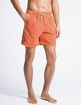 Quick Dry Swim Shorts, PEACH, catlanding
