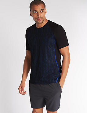 Slim Fit Quick Dry Active T-Shirt