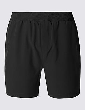 Quick Dry Active Shorts with Secure Pocket