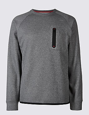 Active Crew Neck Sweatshirt