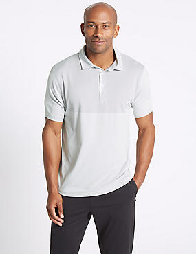 Active Quick Dry Polo Shirt with Stretch