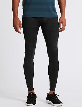 Active Slim Fit Leggings, BLACK, catlanding