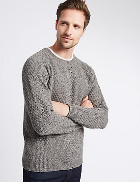 Mid-Weight Crew Neck Jumper