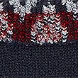 Cosy Christmas Fairisle Jumper, NAVY/RED, swatch