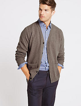 Mens Beige Jumpers & Cardigans | Buy Oatmeal Jumper | M&S