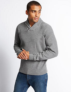 Lambswool Rich Long Sleeve Jumper