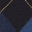Pure Lambswool Argyle Jumper, NAVY MIX, swatch
