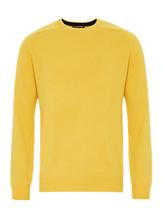 Pure Lambswool Crew Neck Jumper Clothing