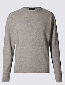 Pure Lambswool Crew Neck Jumper