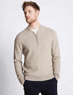 Pure Cotton Baseball Jumper