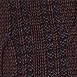 Pure Cotton Cable Knit Cardigan, BURGUNDY MIX, swatch