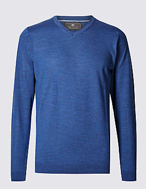 Christmas presents for parents christmas gifts for mum and dad m pure merino wool v neck jumper negle Choice Image
