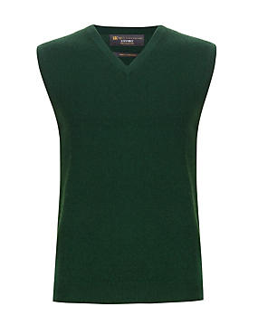 Pure Cashmere V-Neck Slipover