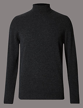 Basic Pure Cashmere Jumper