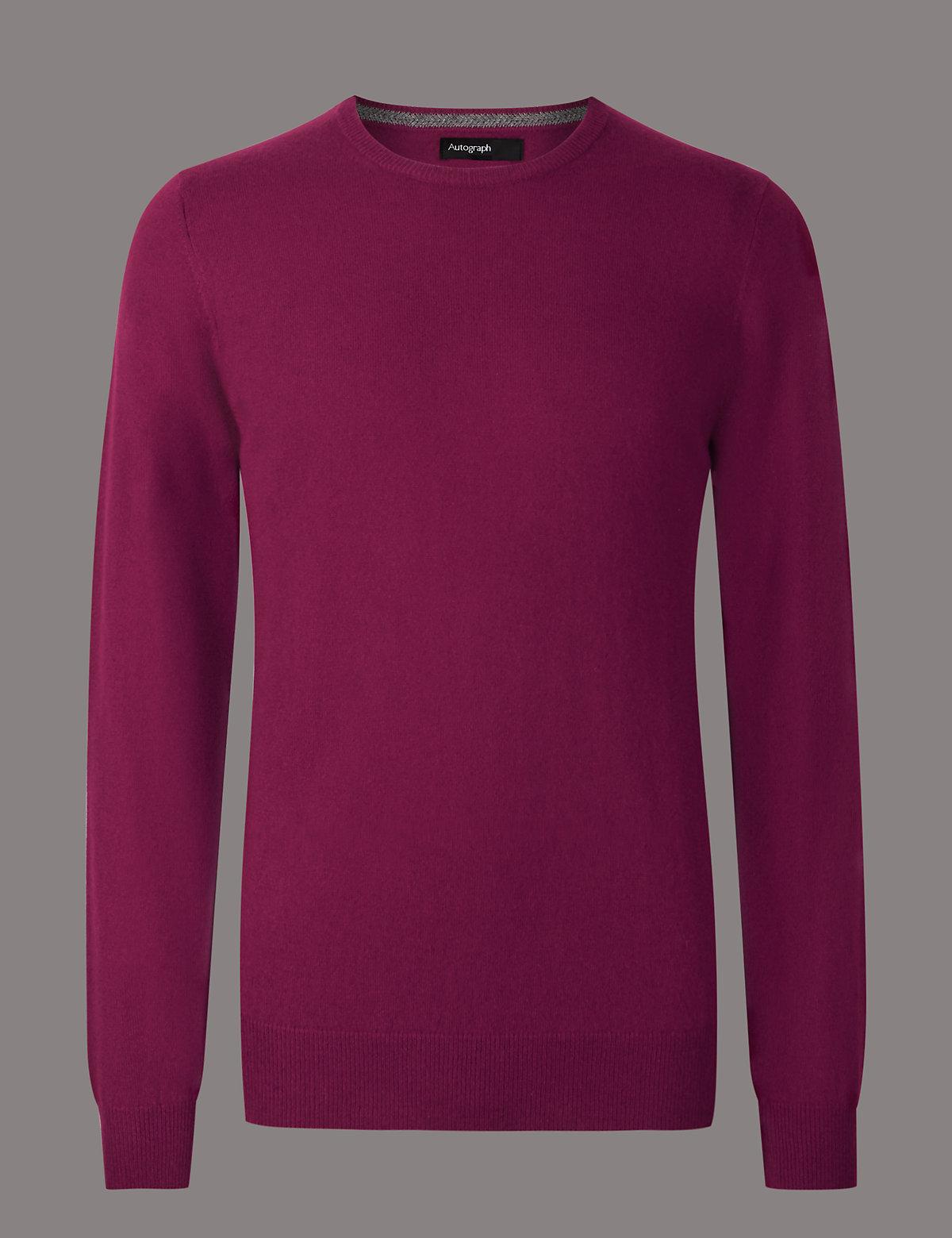 Mens Cashmere, Jumpers & Socks | Knitwear For Men | M&S