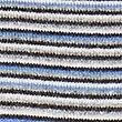 Pure Cashmere Striped Jumper, BLUE MIX, swatch