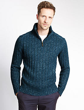 Basic Textured Jumper
