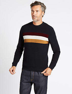 Cotton Rich Striped Jumper