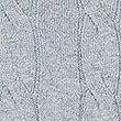 Cotton Cashmere Cable Knit Jumper, GREY MIX, swatch