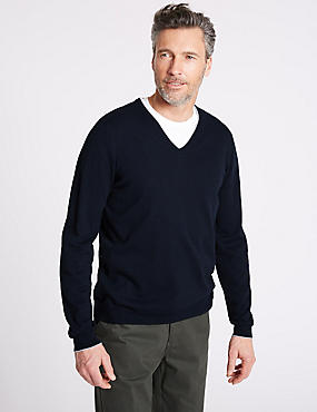 Cotton Cashmere Blend Jumper