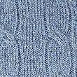 Merino Wool Rich Cable Kit Jumper, MEDIUM BLUE, swatch
