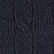Merino Wool Rich Cable Kit Jumper, NAVY, swatch