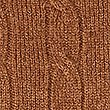 Merino Wool Rich Cable Kit Jumper, CHESTNUT, swatch