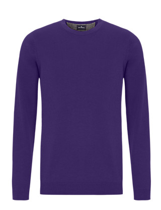 Pure Cotton Crew Neck Jumper Clothing