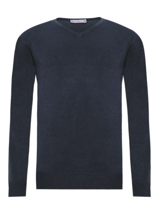 2in Longer Cashmilon™ V-Neck Jumper Clothing
