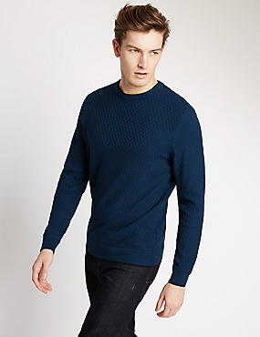 Tailored Fit Crew Neck Jumper