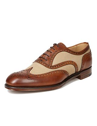 Best of British Panelled Brogue Clothing