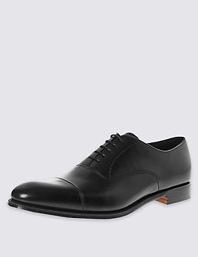 Classic Oxford Shoe in Black Calf Leather