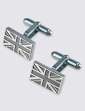 Made in the UK Union Jack Cufflinks
