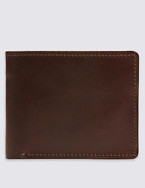 Made in the UK Leather Bi Fold Wallet