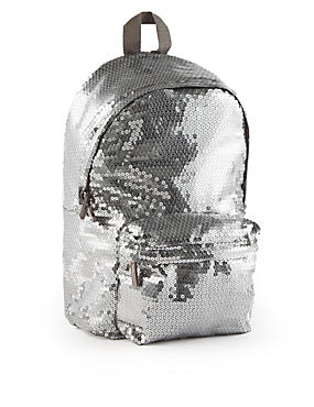 Kids' Sequin Embellished Rucksack