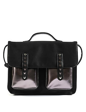 Kids' Double Bar Satchel Bag
