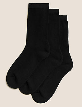 3 Pairs of Freshfeet™ Socks with Modal (5-14 Years)