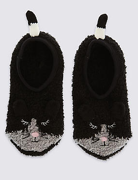 Freshfeet™ Mouse Cosy Footsies (5-14 Years)