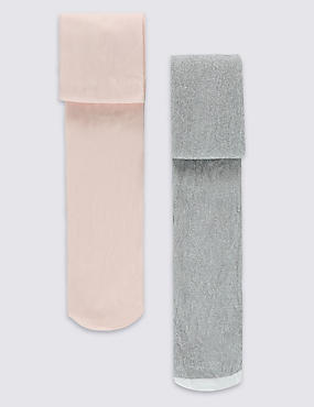 2 Pack Tights (2-10 Years)