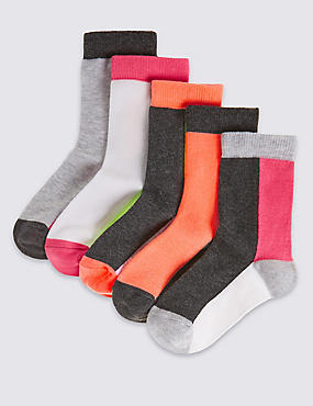 5 Pairs of Socks Freshfeet™ with Silver Technology