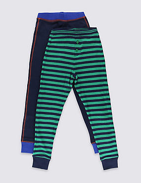 2 Pack Sporty Thermal Long Pants (18 Months - 16 Years)