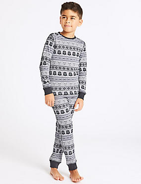 Cotton Blend Star Wars™ Thermal Set (18 Months - 16 Years)