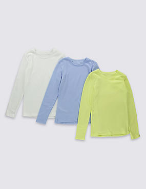 3 Pack Long Sleeve Thermal Vests (18 Months - 16 Years)