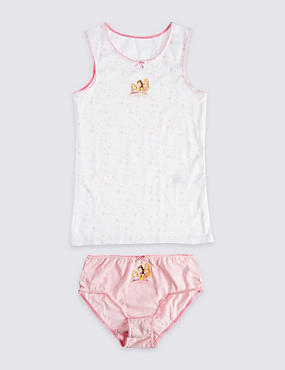 Pure Cotton Vest & Brief Set (3-10 Years)