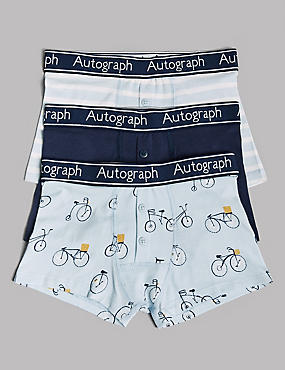 Cotton Trunks with Stretch (6-16 Years)