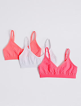 Seamfree Jacquard Bras (6-16 Years)