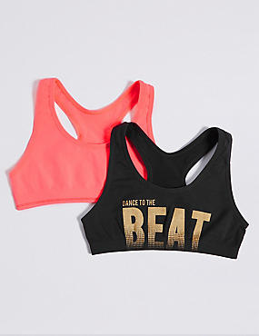Seamfree Assorted Crop Tops (6-16 Years)