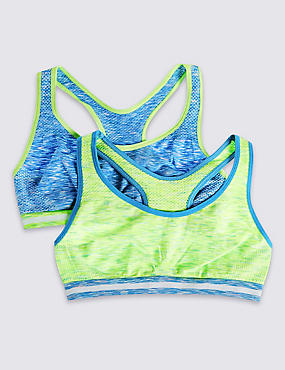 2 Pack Crop Tops (9-16 Years)